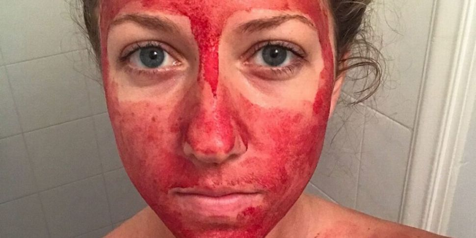 Woman who smears period blood...