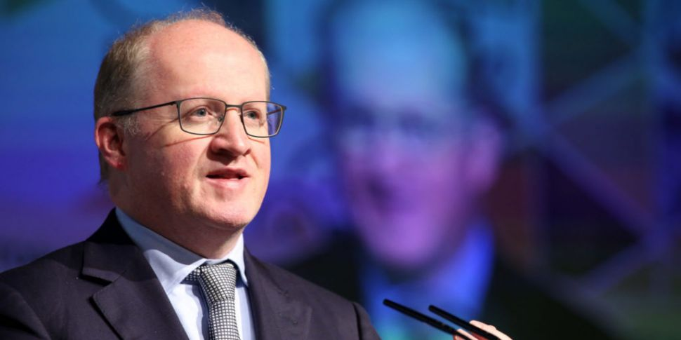 Central Bank governor Philip L...