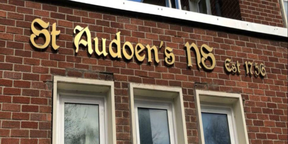 Children of Dublin school join...