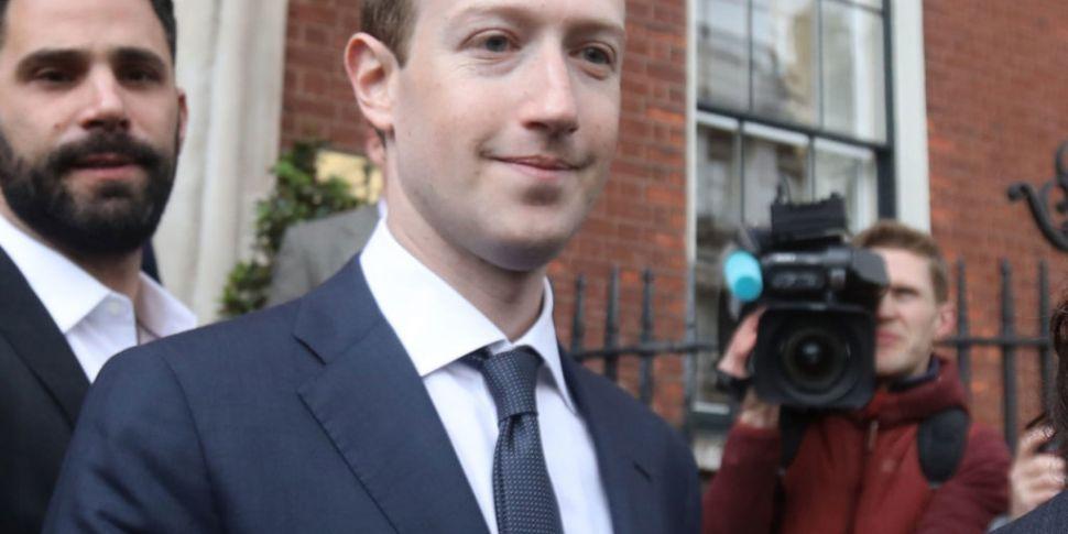 TDs meet with Facebook CEO Mar...