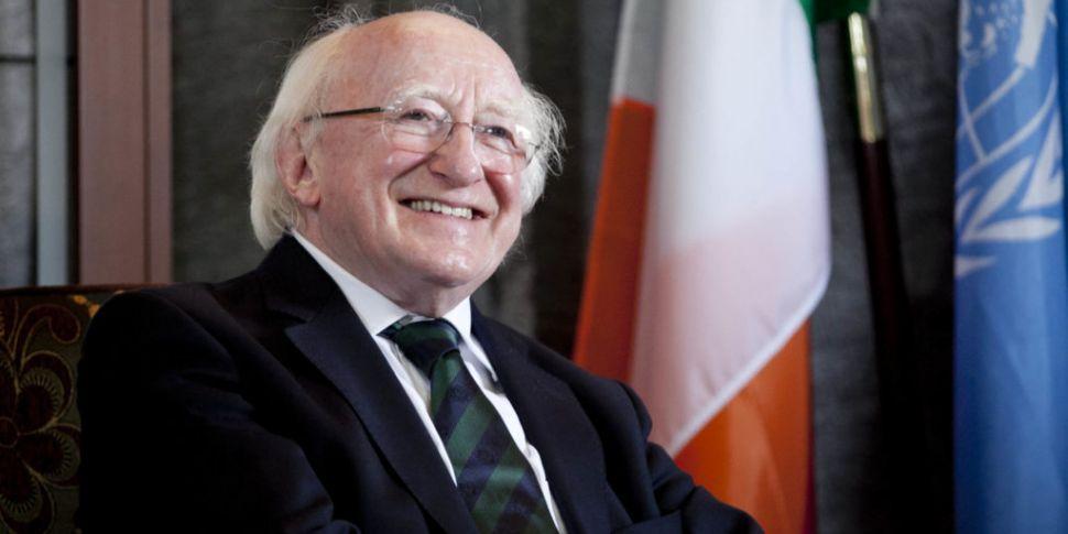 President Higgins calls for 'g...