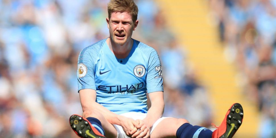 De Bruyne Ruled Out Of Manches...