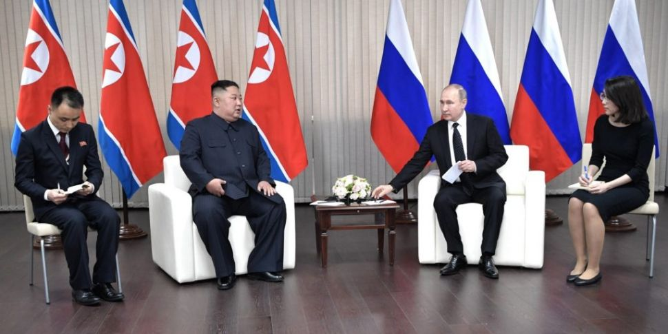 Kim Jong Un Meets Vladimir Putin In Russia For First Summit Newstalk