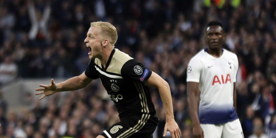 Ajax edge Tottenham in London