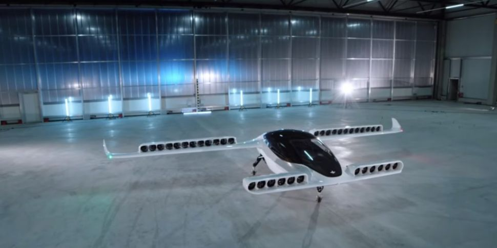 WATCH: Five-seater air taxi ma...
