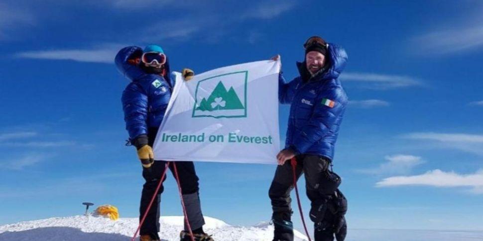 Irish climber reported missing...
