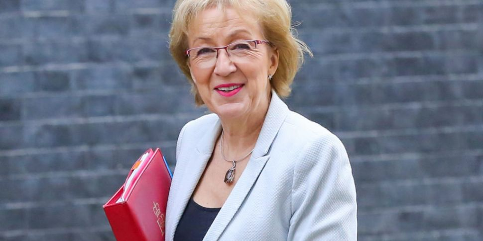 Andrea Leadsom resigns from UK...