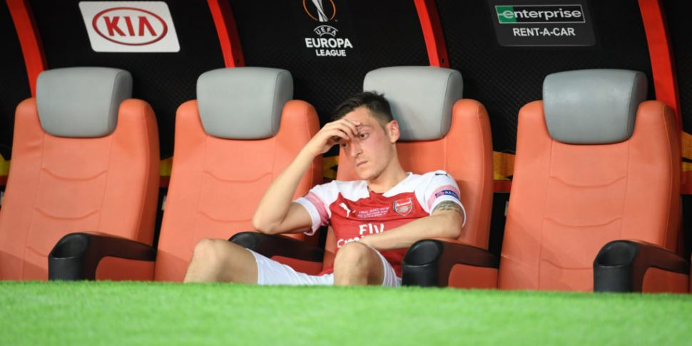 Mesut Ozil left out of Arsenal...
