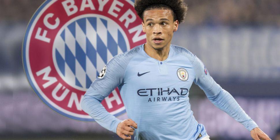 Leroy Sane seals Bayern move |...