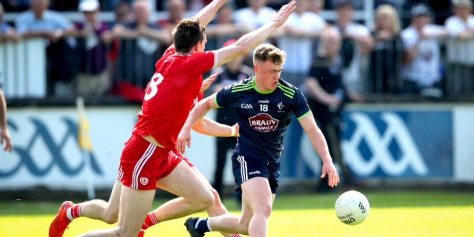 Tyrone's Colm Cavanagh doesn't...
