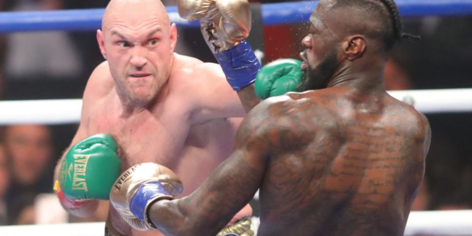 Tyson Fury and Deontay Wilder...