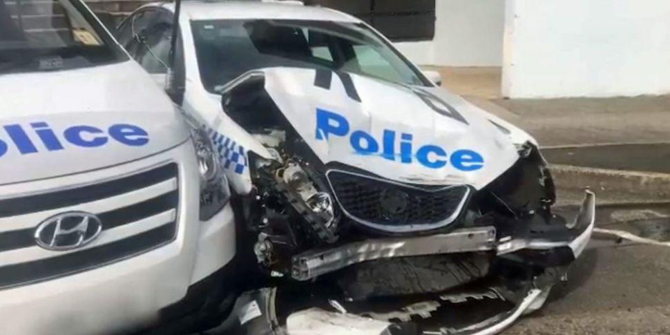 Man crashes drug-loaded van in...