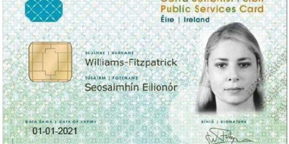 Public Services Card 'being us...