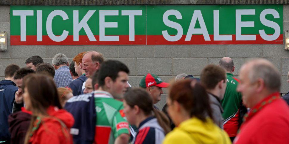 100 spectators can attend GAA...