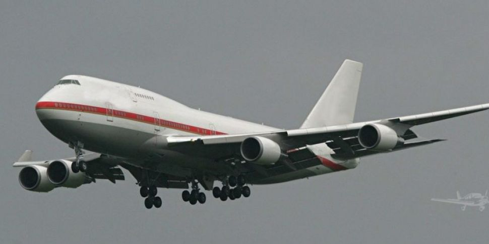 Japan's 'Air Force One' goes o...