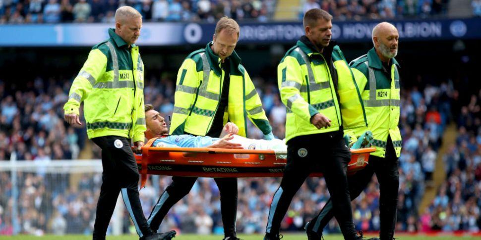 Manchester City's Aymeric Lapo...