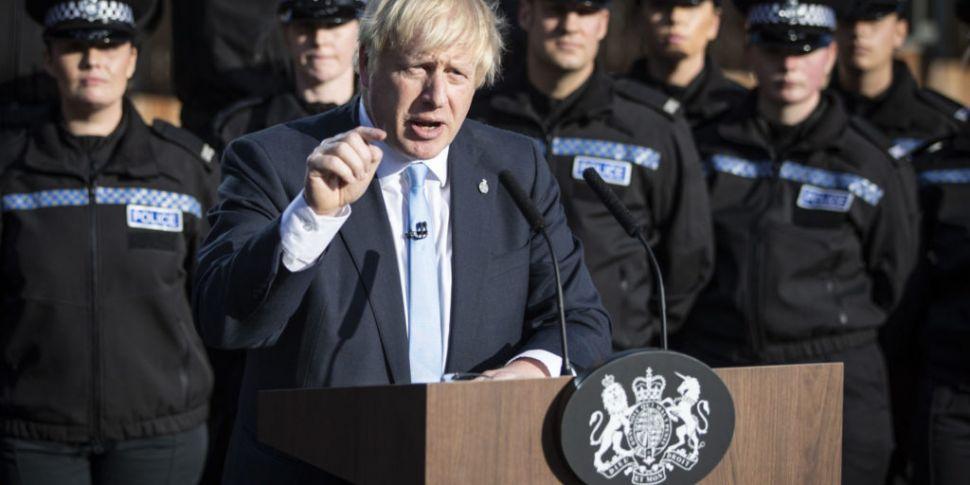 UK PM Johnson: 'I'd rather be...
