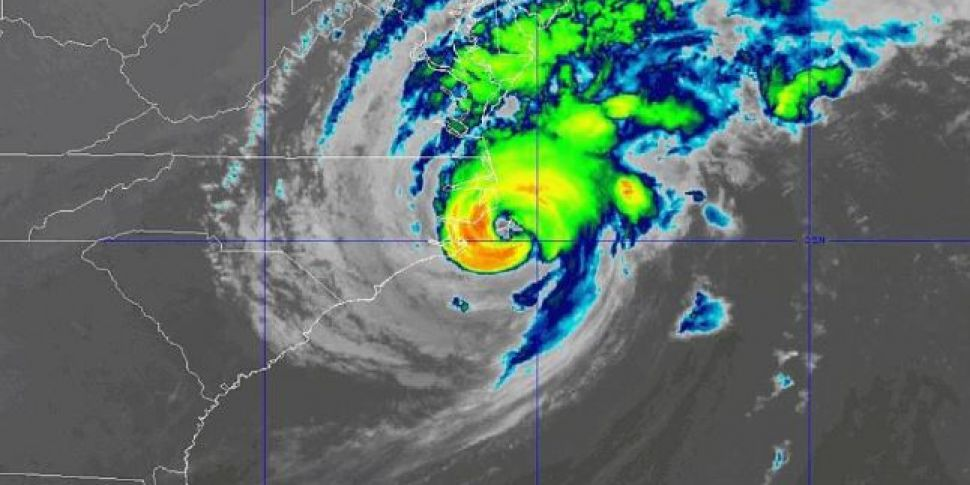 Hurricane Dorian makes landfal...