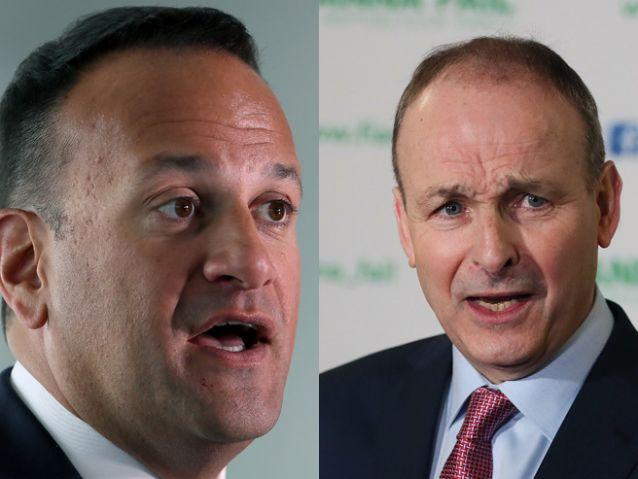 Election poll shows Fianna Fái...