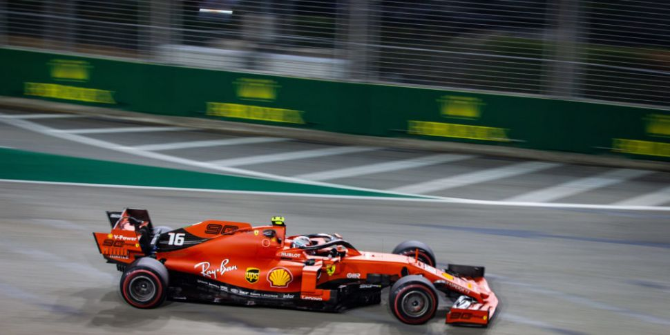 Leclerc on pole position for S...
