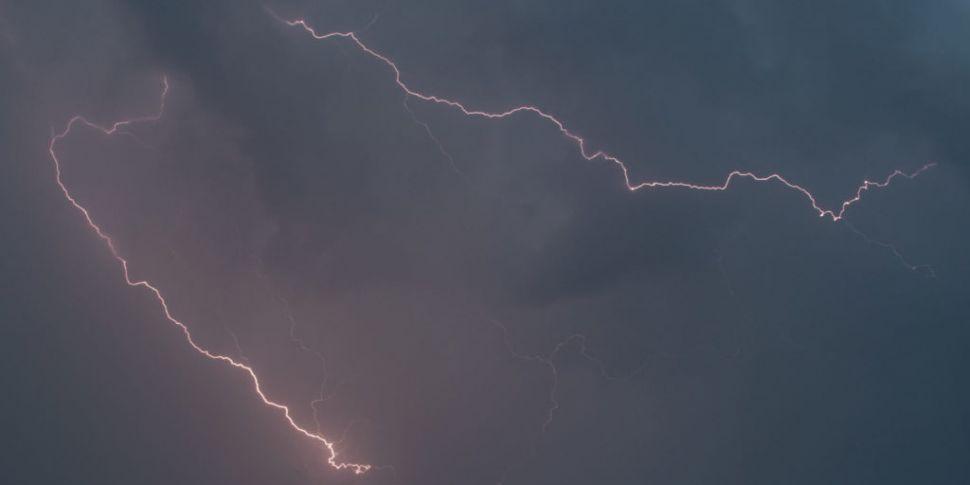 'Lightning strike to pumping s...