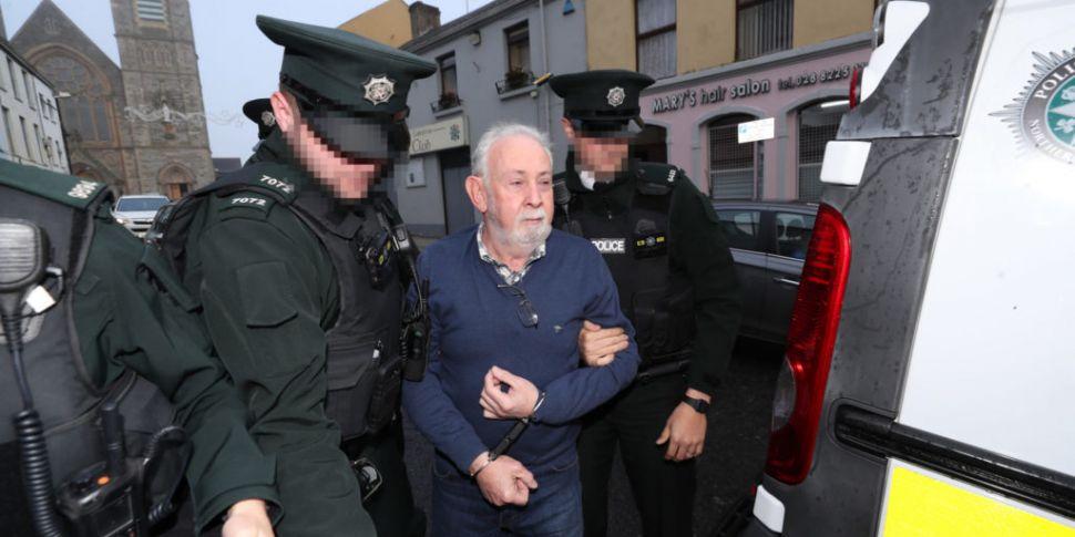 John Downey appears in court o...