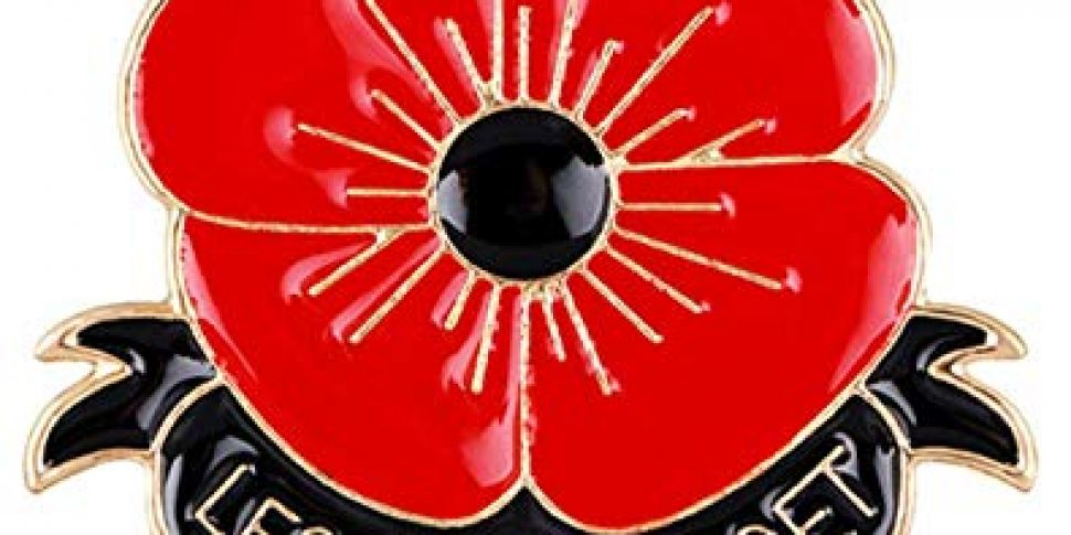 Red poppy to commemorate civil...