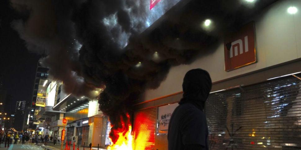 Fresh clashes in Hong Kong as...