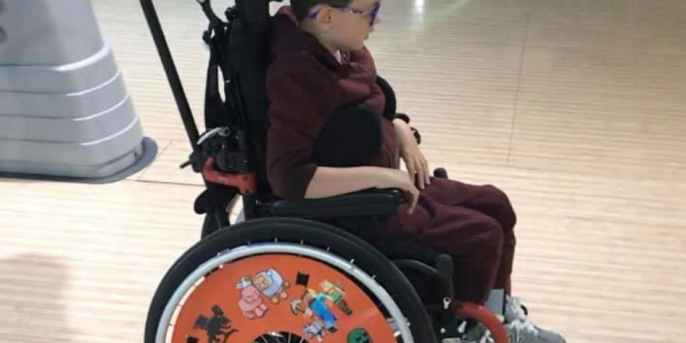 Child's wheelchair recovered a...