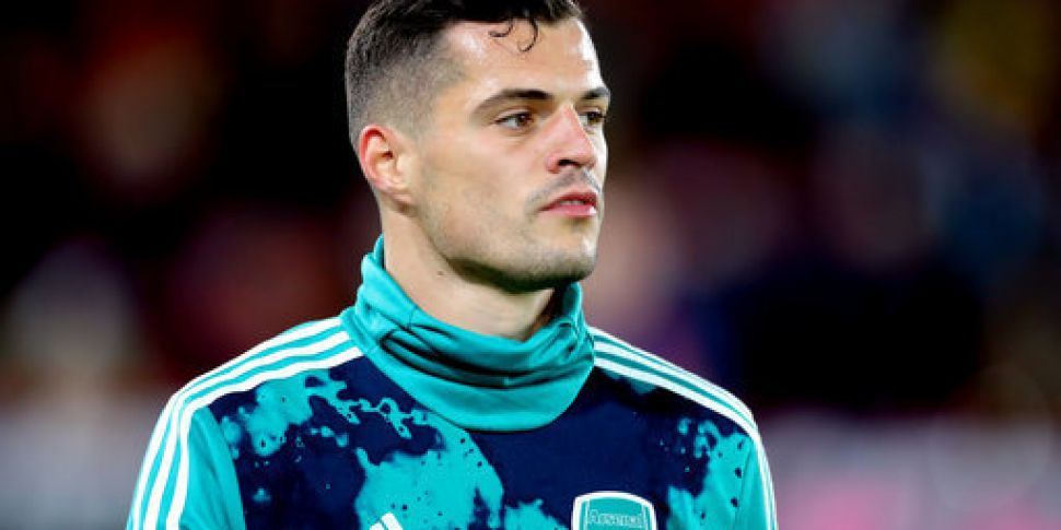 Arsenal captain Granit Xhaka s...