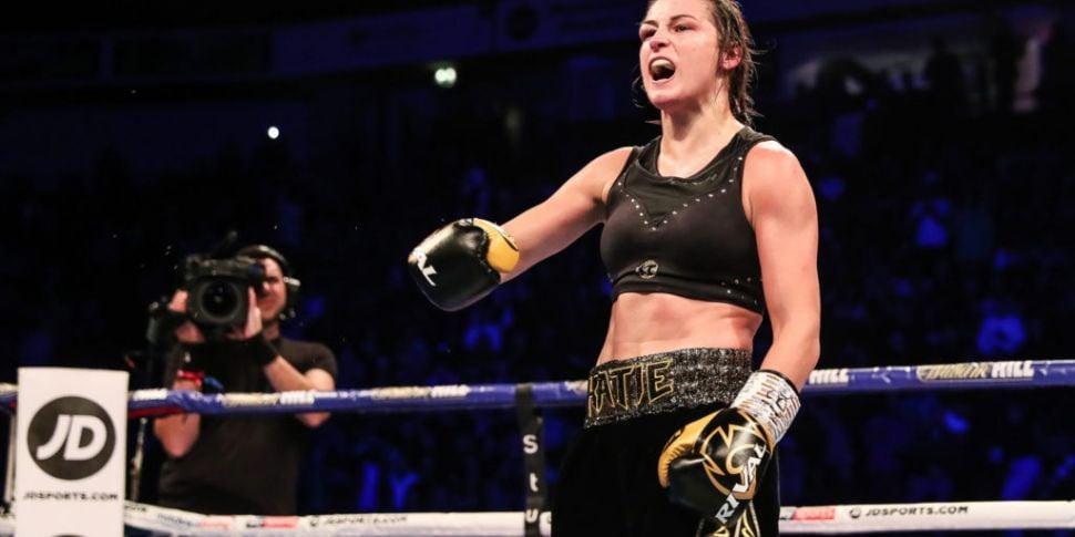 Katie Taylor could defend WBA...