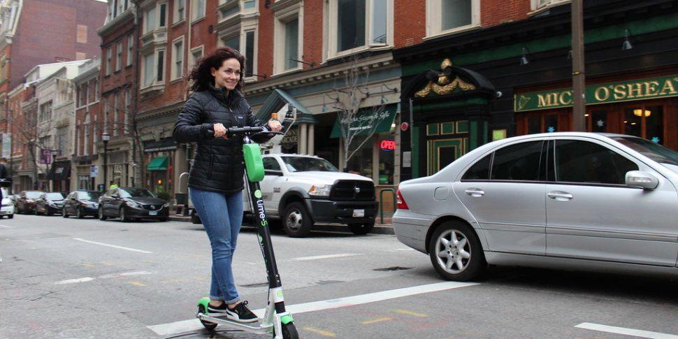 #CommuterHellNT - Escooter rep...