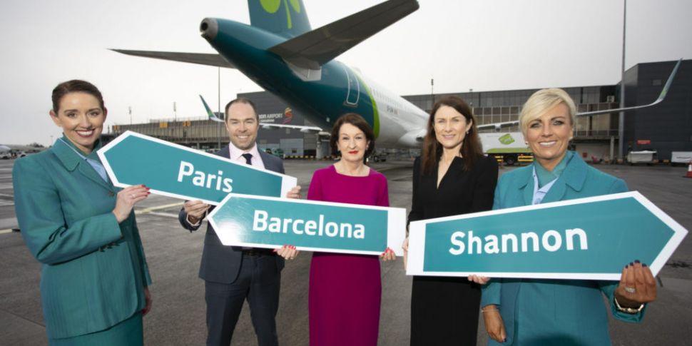 Aer Lingus expands Shannon Air...