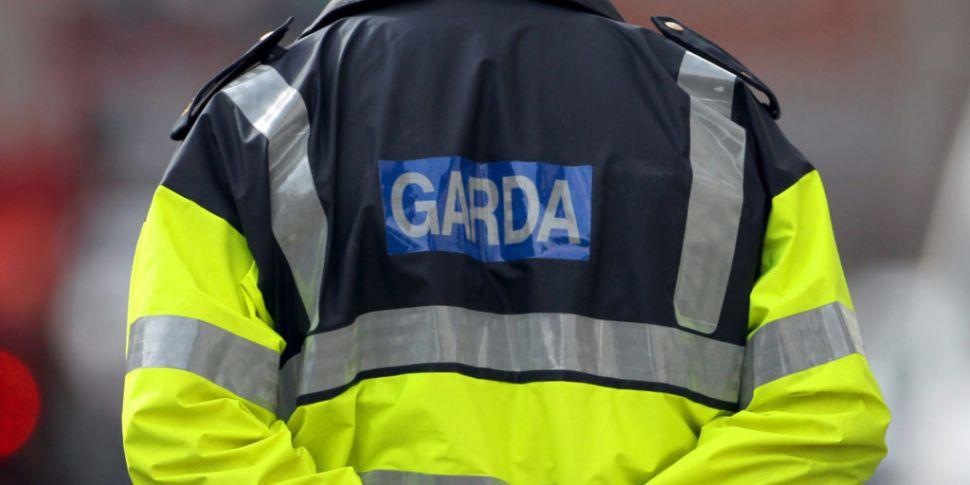 Man arrested after Garda car c...