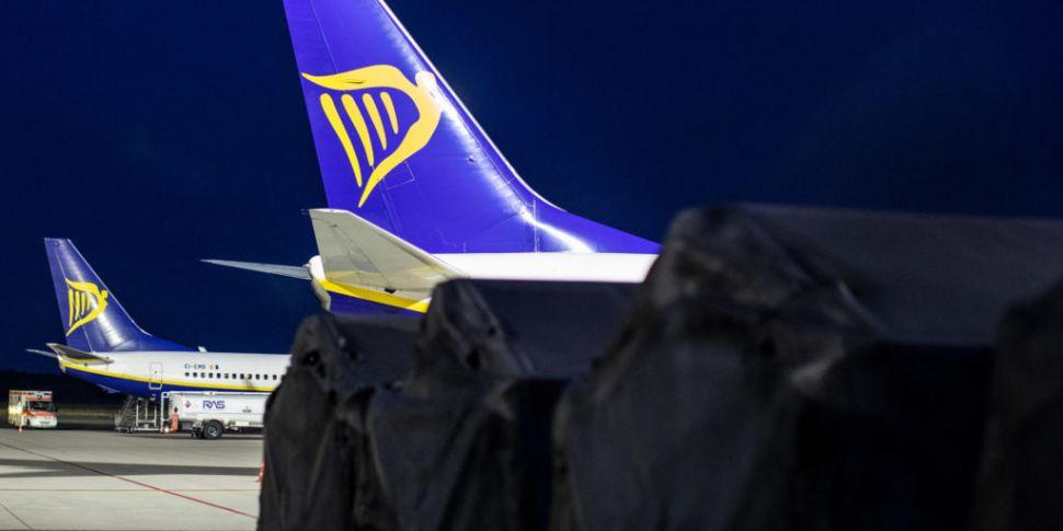 Ryanair sees passenger traffic...