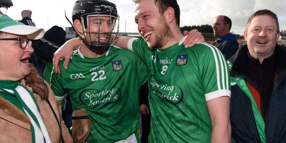 Limerick hurler Paul Browne ca...