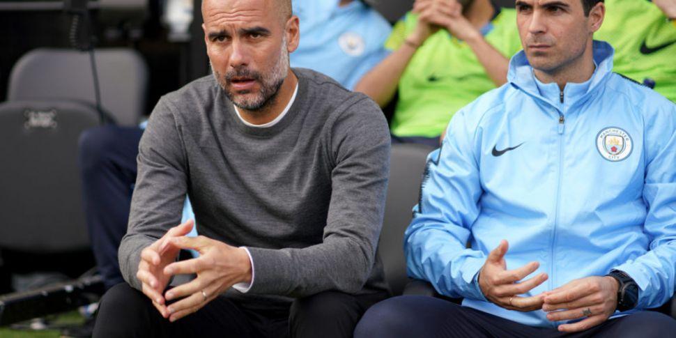 Pep Guardiola backs Mikel Arte...