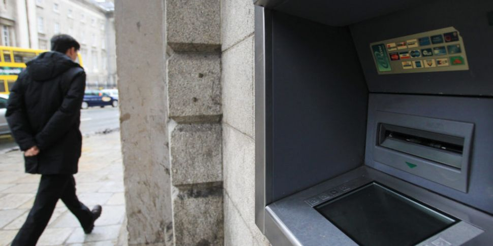 Bank of Ireland ATMs back up a...