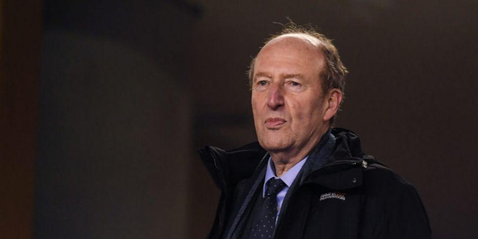 Minister of Sport Shane Ross r...