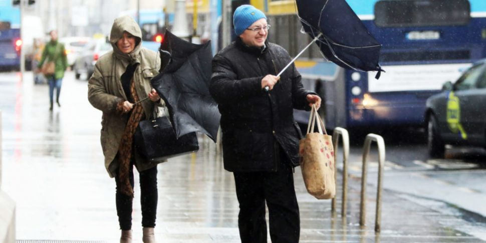 Saturday's weather: Windy with...