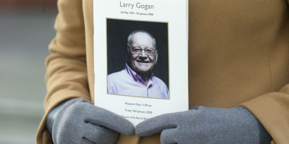 Funeral of Larry Gogan hears h...