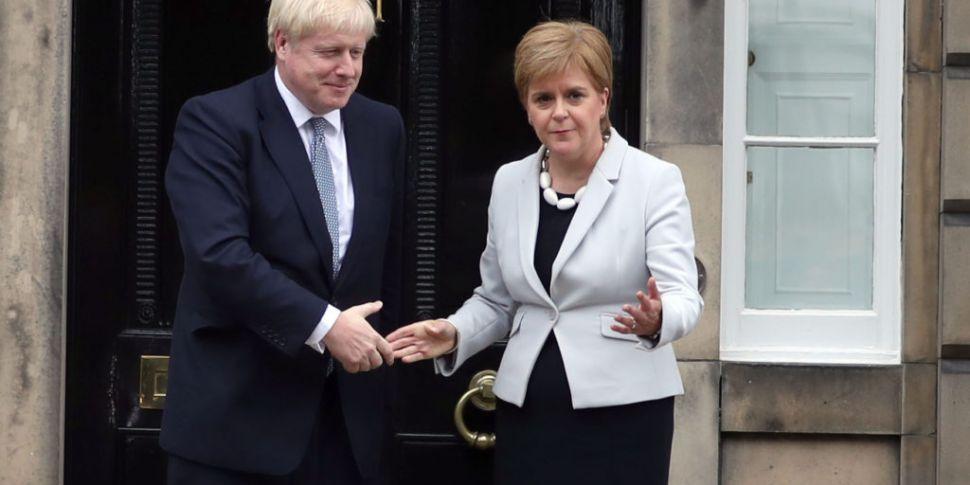Nicola Sturgeon hits out at Jo...