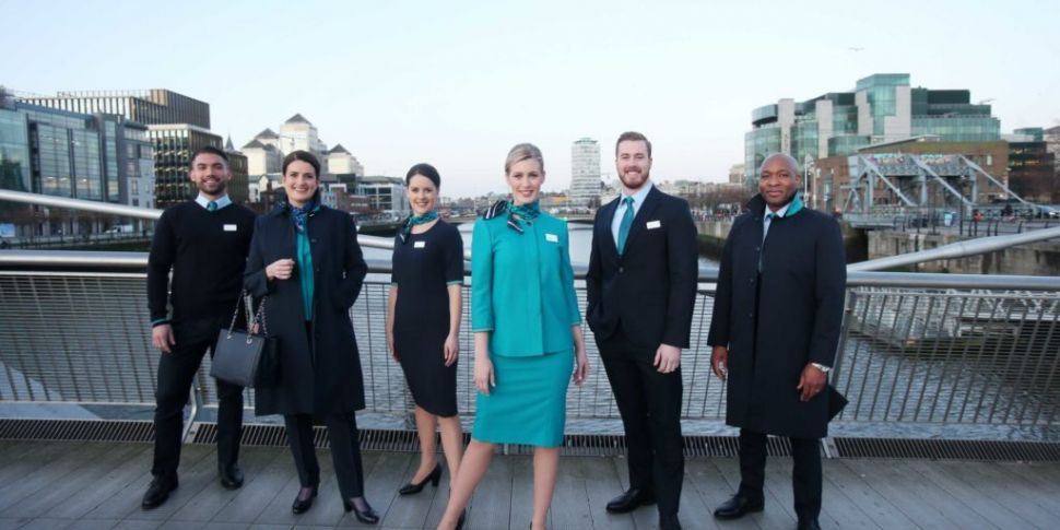 WATCH: Aer Lingus unveils firs...