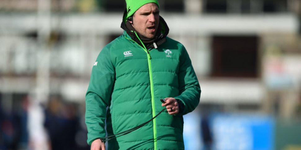 Ireland training squad named f...