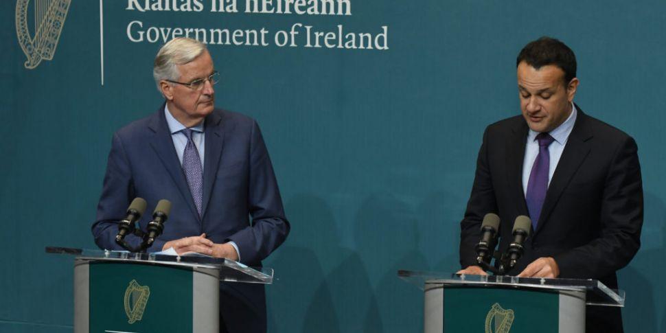 Barnier praises government for...