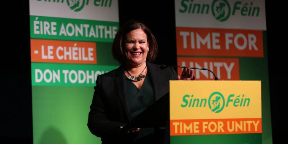 Sinn Féin level with Fianna Fá...