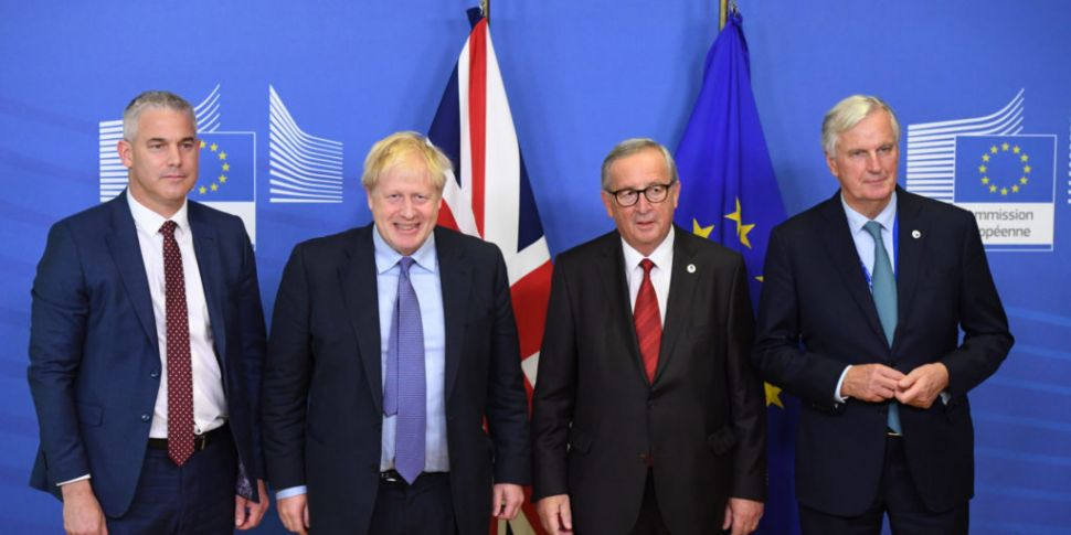 Brexit: Barnier and Johnson cl...