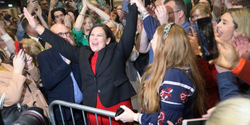 Sinn Féin leader Mary Lou McDo...