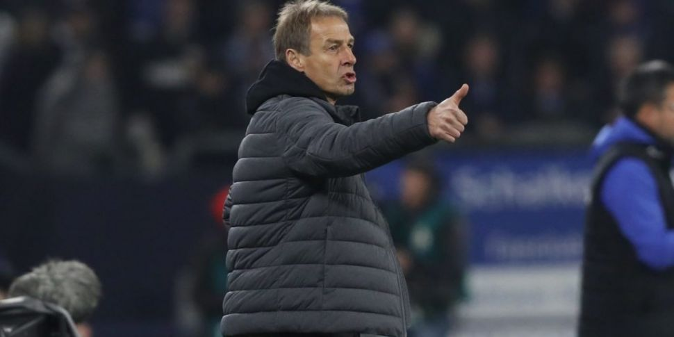 Klinsmann steps down as Hertha...