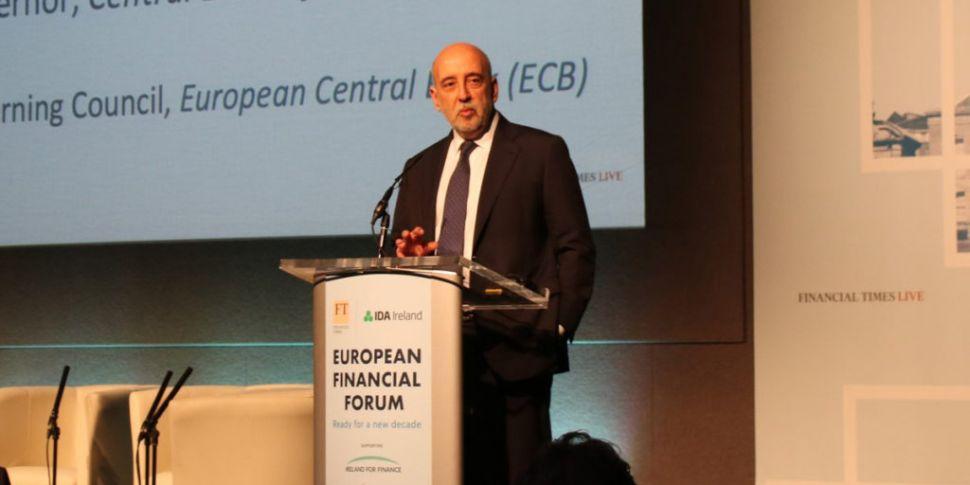 Central Bank chief warns of ec...